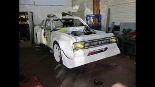 BMW M20B25 Swap Opel Commodore Race Car Build Project
