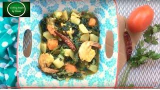 পালং শাকের ঘন্টো || Bangladeshi Spinach Curry|| palong shaker jhol