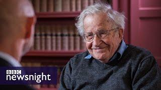 Noam Chomsky: I would vote for Jeremy Corbyn (EXTENDED INTERVIEW) - BBC Newsnight