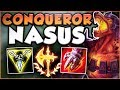 Download Video Download UMM RIOT?? ONE NASUS Q DID HOW MUCH DAMAGE? CONQUEROR NASUS SEASON 8 TOP GAMEPLAY! League of Legends 3GP MP4 FLV