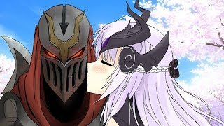 If league of legends Champions had Facebook #35 (Zed is a beast)