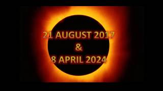 USA BABYLON--God's Coming Judgements--2 Total Solar Eclipse Signs