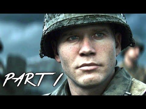 Xxx Mp4 CALL OF DUTY WW2 Walkthrough Gameplay Part 1 Normandy Campaign Mission 1 COD World War 2 3gp Sex