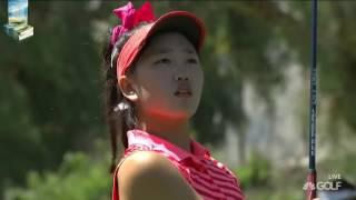 Little Lucy Li's Sweet Golf Shots 2017 Ana Inspiration LPGA Tournament