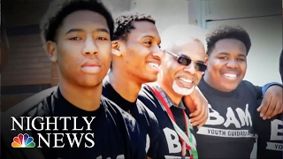 Inspiring America: How One Chicago Program Helps Steer Young Men Away | NBC Nightly News