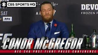Conor McGregor: UFC 246 Post Fight Press Conference   CBS Sports HQ