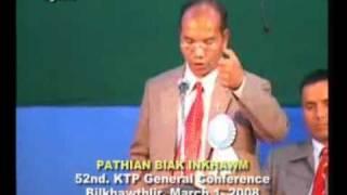 KTP General Conference 2008, Speaker Rev. Lalramliang Pachuau