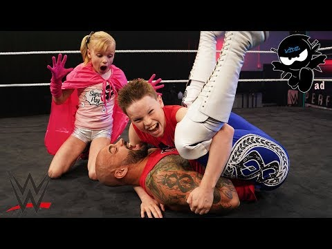 Ninja Kidz vs WWE Ricochet Super Stars in Training