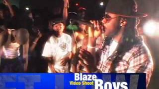 Blaze Boys performs Love Witcha During Video Shoot .mp4