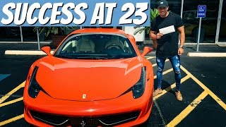Money, Cars, and Business | Finding Success At A Young Age