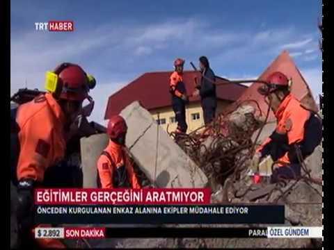 AFAD EĞİTİMLERİ TRT HABER