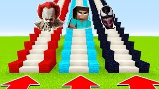 DO NOT CHOOSE THE WRONG STAIRS (PENNYWISE, HEROBRINE,VENOM) (Ps3/Xbox360/PS4/XboxOne/PE/MCPE)