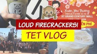 TET VLOG~Vietnam Town~Firecrackers