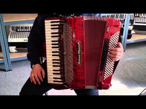 Akkordeon Piatanesi Ottavianelli Professional Cassotto 4 16 19 Diskantregister Video Klangprobe