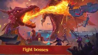 Warspear Online MMORPG. English trailer for Android