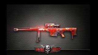 Blood Strike com sniper estrela vermelha
