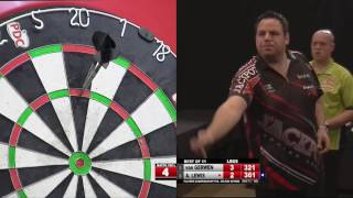 INCREDIBLE MATCH | Watch Michael van Gerwen v Adrian Lewis at Players Champs five