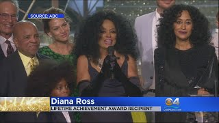 Diana Ross Given Lifetime Achievement Award At AMA