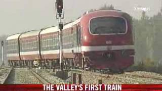 PM to flag-off Kashmir's first train