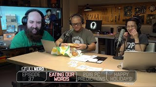 2018 PC Hardware Predictions & Eating Paper | The Full Nerd Ep. 37