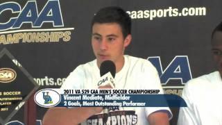 #2 Old Dominion vs. #4 Delaware - 2011 VA 529 CAA Men's Soccer Championship Match