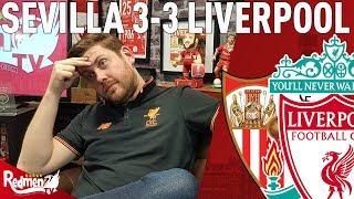 We Threw It Away...   Sevilla v Liverpool 3-3   Paul's Match Reaction