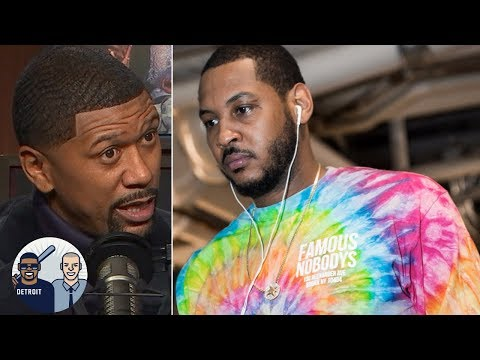 Jalen Rose I don't think Carmelo Anthony will play another NBA game Jalen & Jacoby