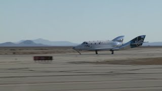 Virgin Galactic craft makes 2nd trip to space