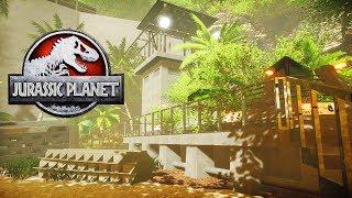 NEW JURASSIC PARK FAN GAME! | Jurassic Planet Gameplay (Free Jurassic Park Game)