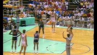 Los Angeles '84 Olympics - Basketball Final Game - Spain @ USA (8/8/1984)