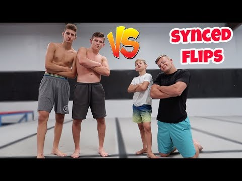 SYNCED FLIPPING CHALLENGE
