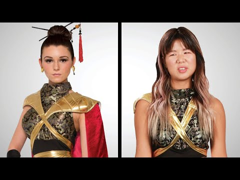Xxx Mp4 Asian Americans Try Asian Halloween Costumes 3gp Sex