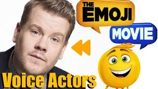 """""""The Emoji Movie"""" (2017) Voice Actors and Characters"""