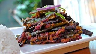 Sri Lankan Eggplant - Wambatu Moju - Vegan Vegetarian Recipe