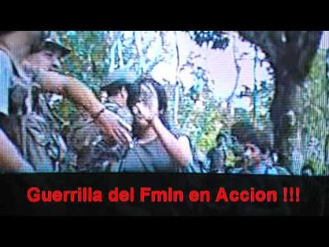 Guerrilla FMLN en Accion Guanaco LA