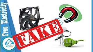 Free Energy Magnet Motor fan- Fake!!! - explanation