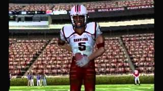Let's Play NCAA Football 10 ps2 #17 UGA vs South Carolina