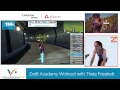Download Video Download Zwift Academy: Women's Climbing Workout with Theia Friestedt 3GP MP4 FLV