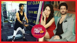 Rohan Mehra Sweats Out In Gym For Muscular Look | Dheeraj & Vinny's Cool Stylish Look