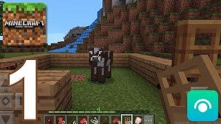 Minecraft: Pocket Edition - Gameplay Walkthrough Part 1 (iOS, Android)