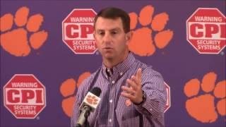 "TigerNet.com - Swinney blasts reporter for trying to create ""drama"""