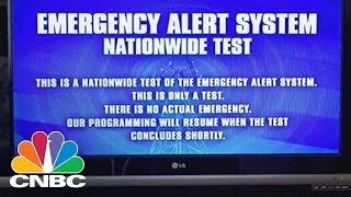 Apocalyptic Emergency Alert Flashes On TVs In California | CNBC