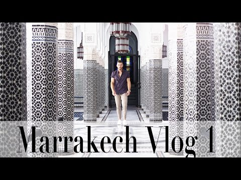 My first Time Visiting Marrakech Travel Vlog