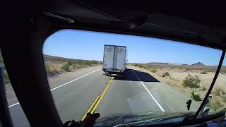 Trucker Speeding/Texting Right B4 the California AG Check