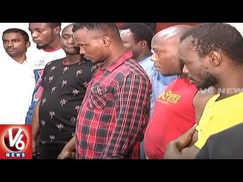 Xxx Mp4 Hyderabad Police Arrests 10 Nigerians In Fake Fund Transfer Case V6 News 3gp Sex
