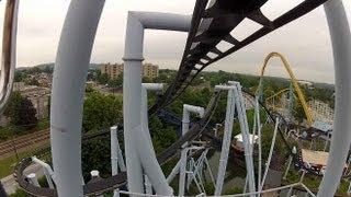 Hersheypark - Great Bear POV HD front seat ride 2012 1080p video steel rollercoaster Hershey GoPro