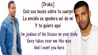 Odio - Romeo Santos ft Drake Lyrics English and Spanish - Translation from both languages - (I hate)