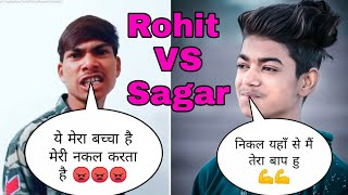 Rohit Kumar VS Sagar Goswami Full Competition | TikTok Trending | Who Is The Best |