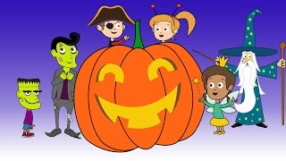 Halloween Night 2: Trick or Treat | Halloween song & animation for kids & the whole family