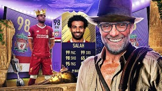 THE KING OF EGYPT! 98 PLAYER OF THE YEAR SALAH! FIFA 18 ULTIMATE TEAM